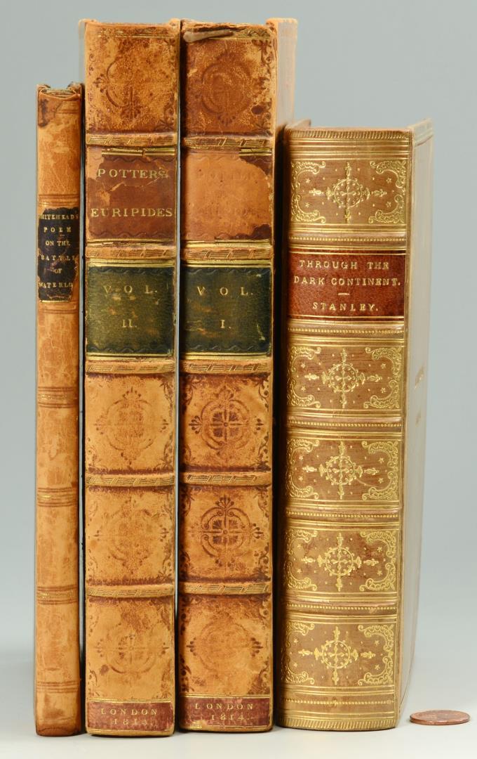Lot 611: Four Antique Historical Books