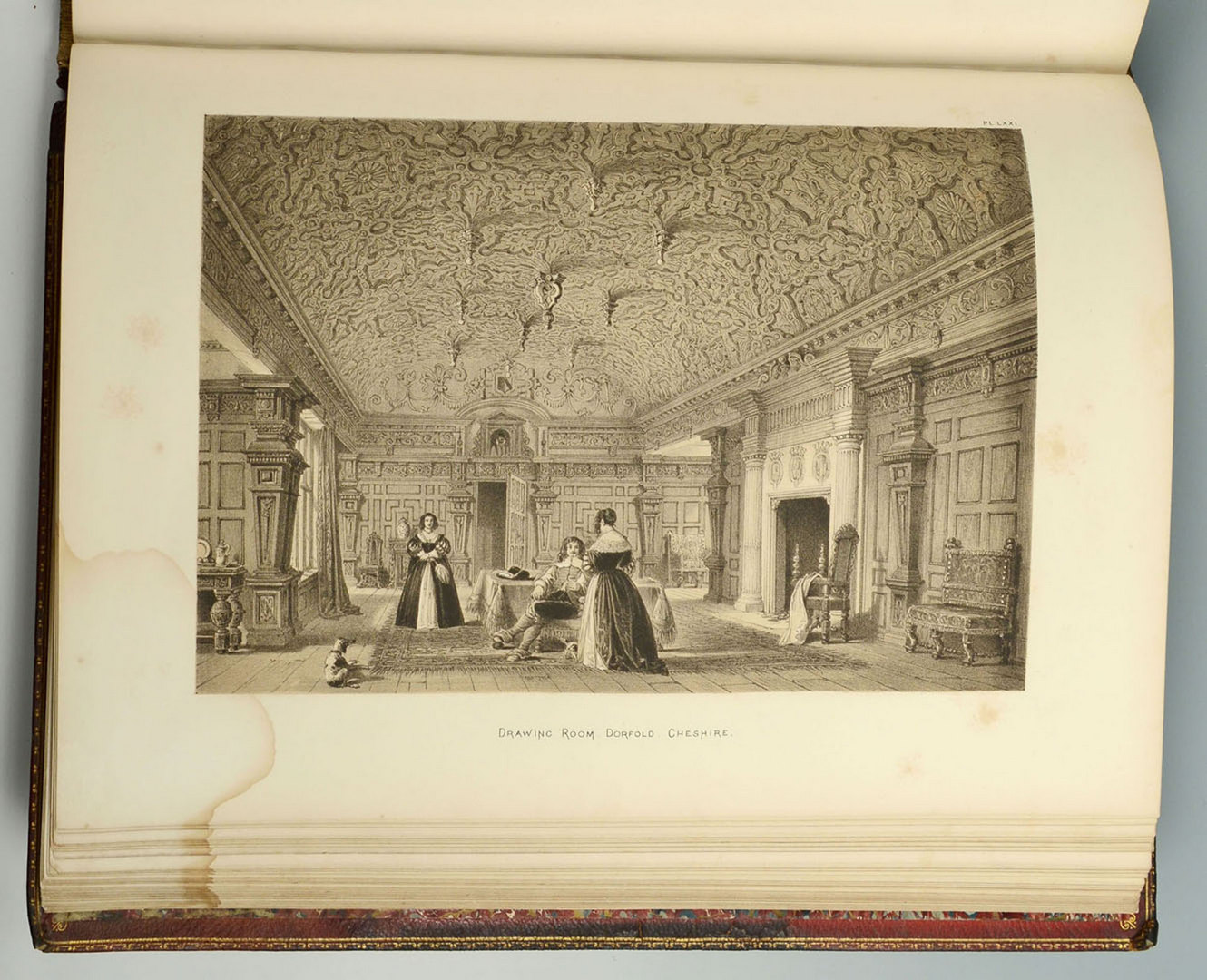 Lot 612: Mansions of England by Nash, 1874 w/ plates