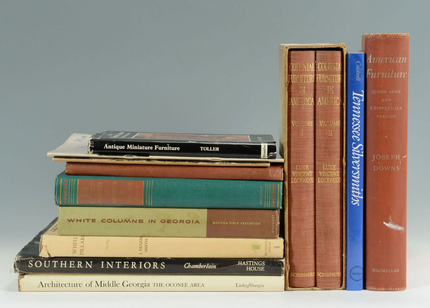 Lot 615: Grouping of 50 Antique Books & Catalogs