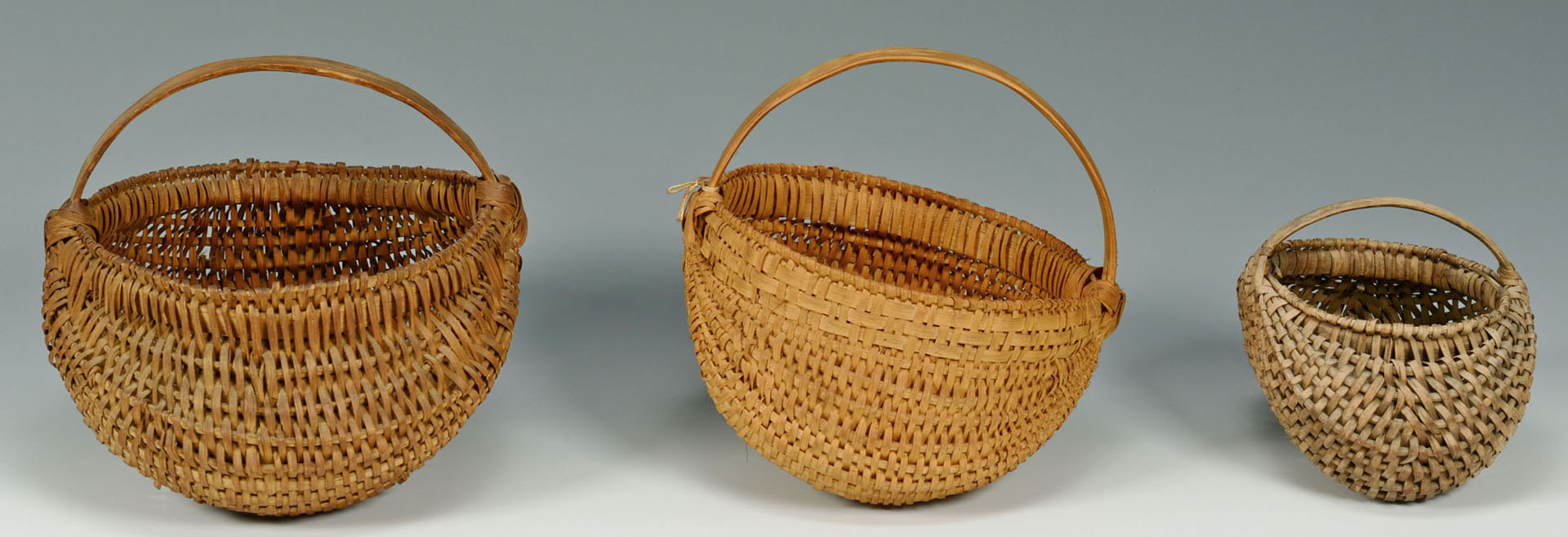 Lot 631: Grouping of Four Baskets, mostly Tennessee
