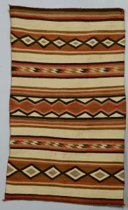 Lot 634: Wide Ruins or Chinle Navajo rug