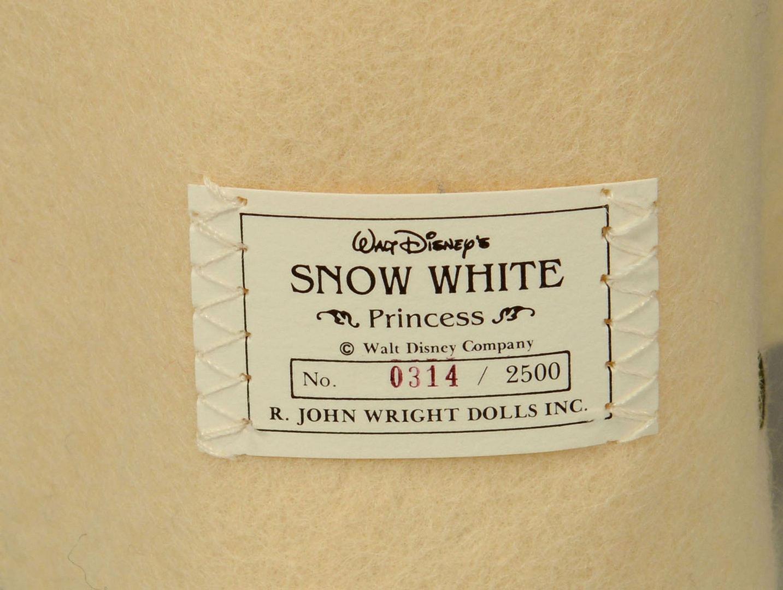 Lot 656: Snow White and Dwarfs Felt Dolls by John Wright