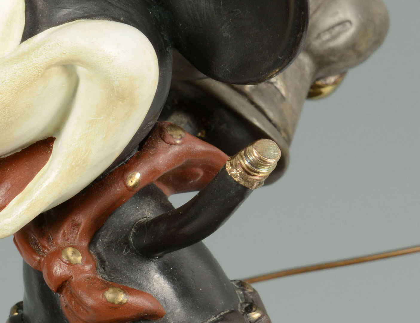 Lot 659: Bronze Two-Gun Mickey Mouse on Horse