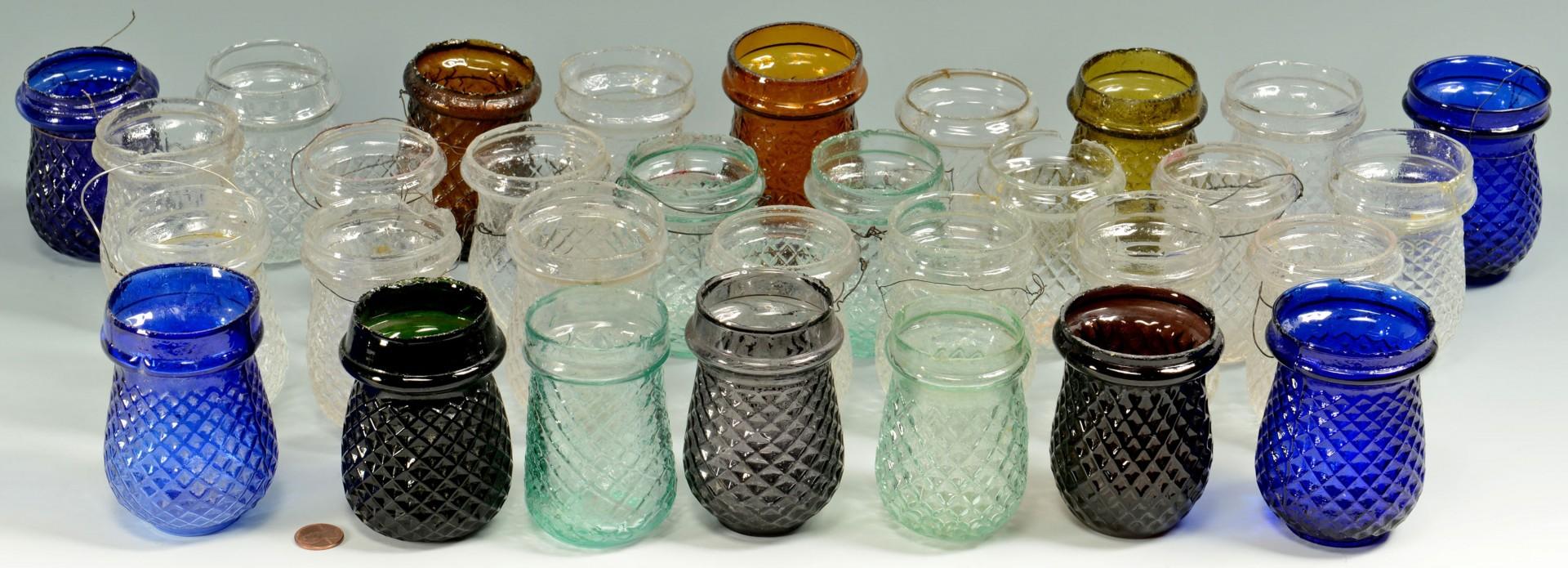 Lot 663: 31 Glass Christmas Globes