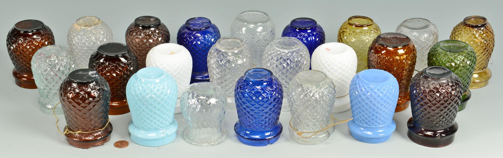 Lot 664: 24 Glass Christmas Globes