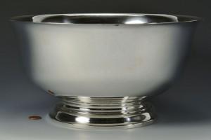 "Lot 67: Gorham Sterling Revere Bowl, 12"", 51 oz"