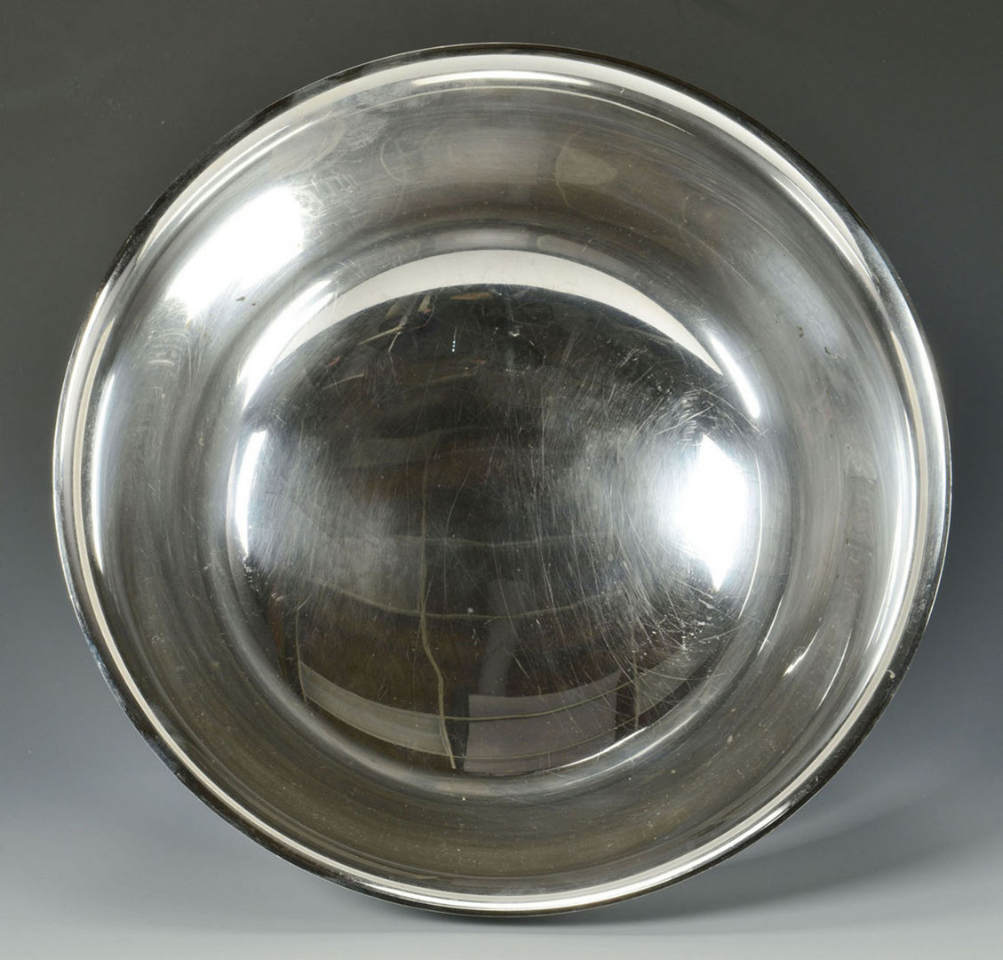 "Lot 67: Gorham Sterling Revere Bowl, 12"", 51 oz"
