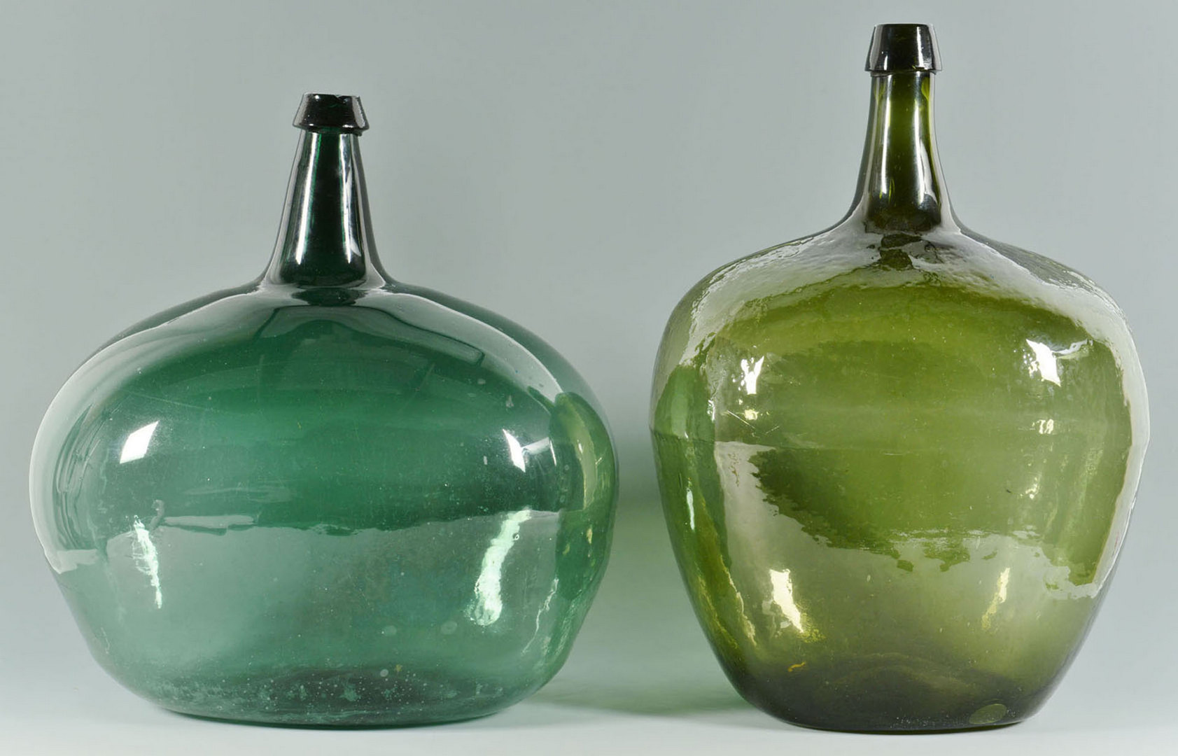 Lot 682: Grouping of Early Blown Glass Bottles