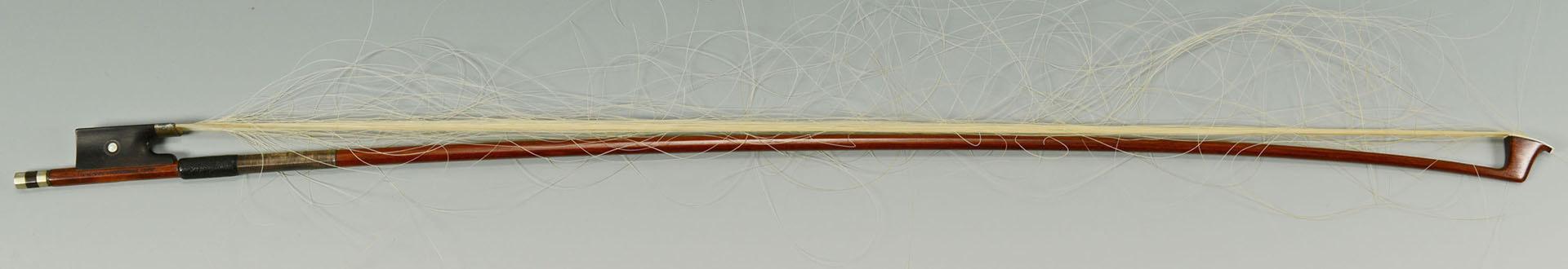 Lot 686: John Friedrich Violin bow