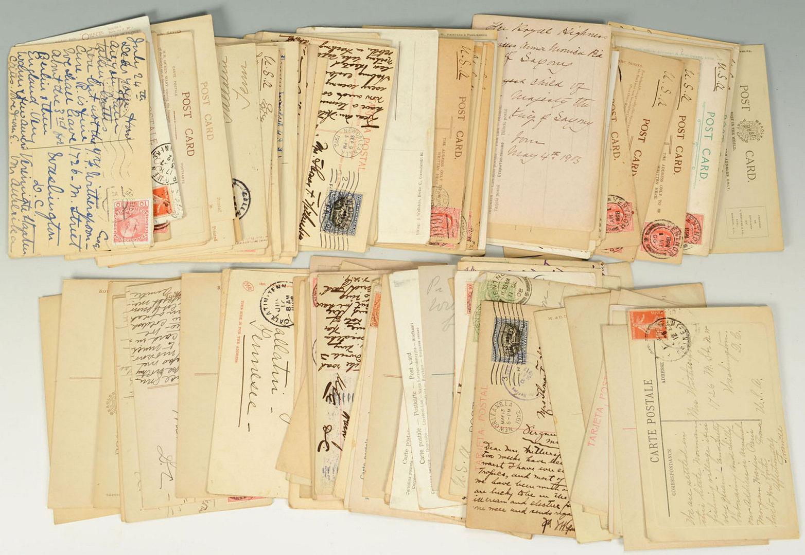 Lot 690: Vintage Postcard collection of Royals