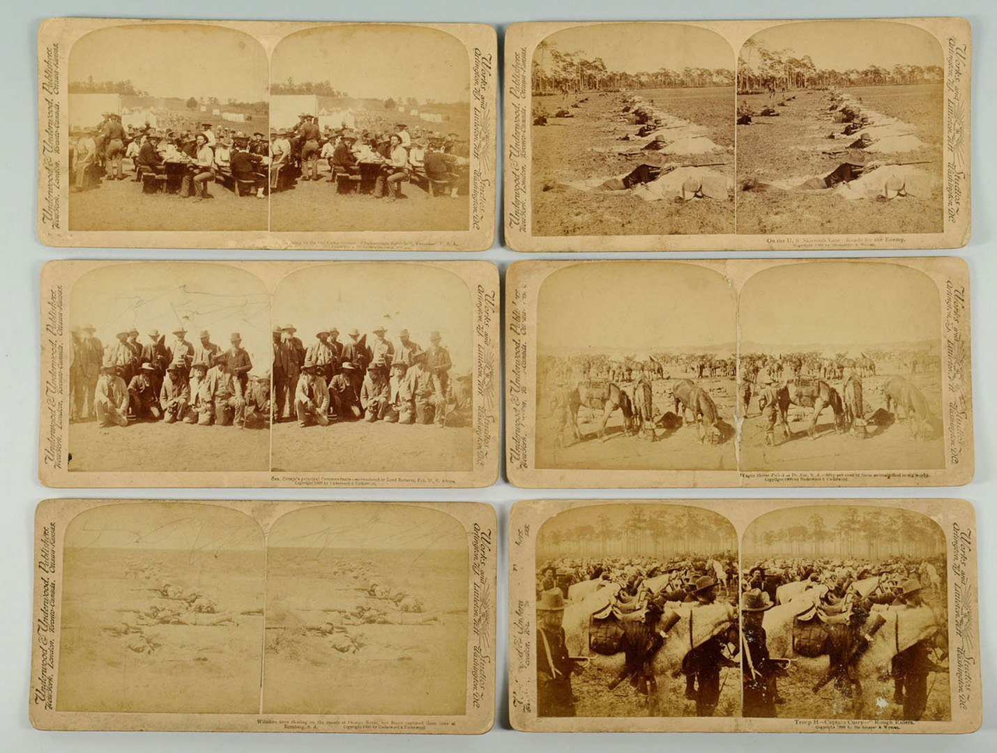 Lot 691: 2 Vintage Postcard Albums & Stereo View Cards