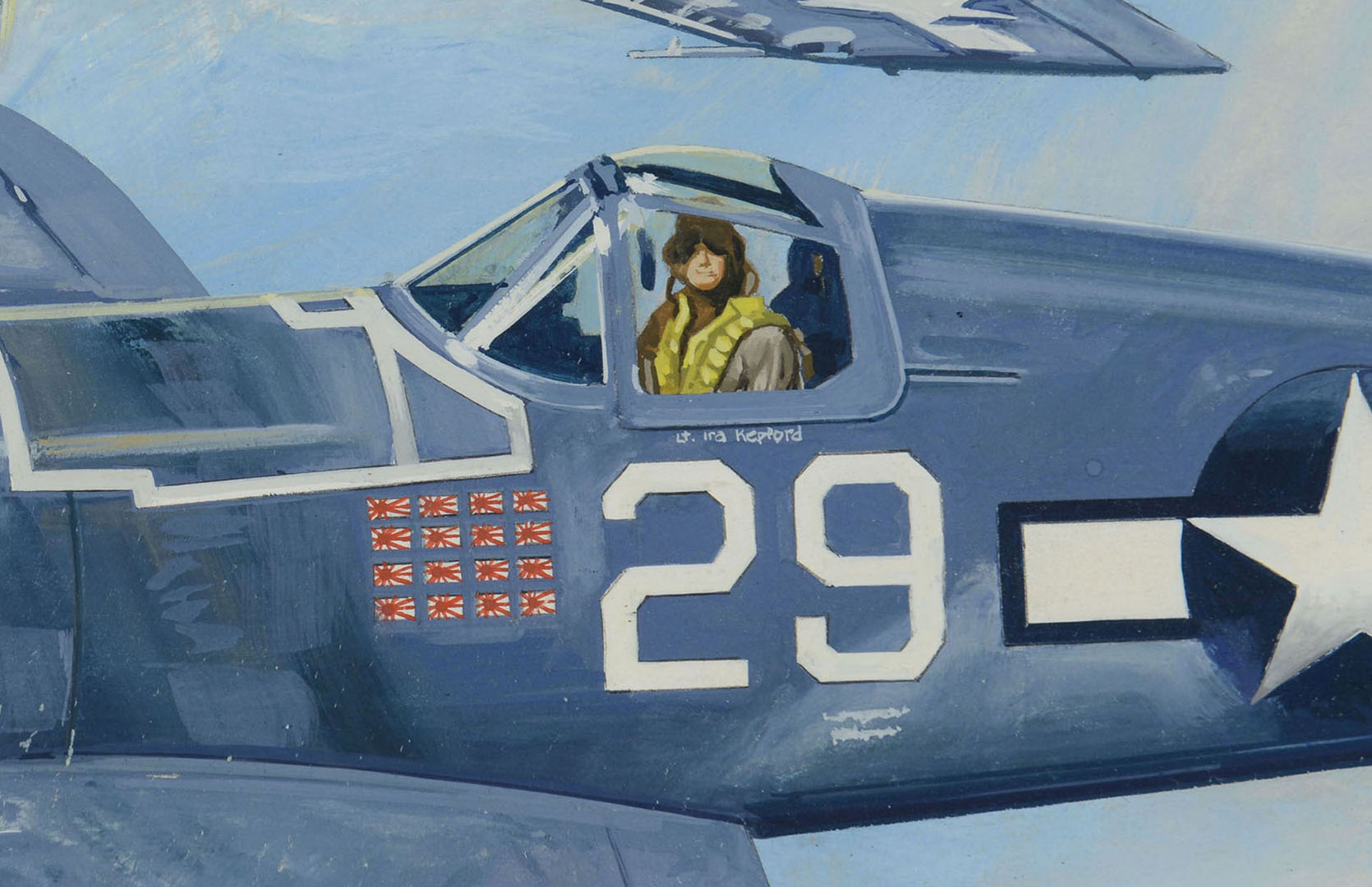 Lot 697: Four Aviation Related Works by James Caulfield