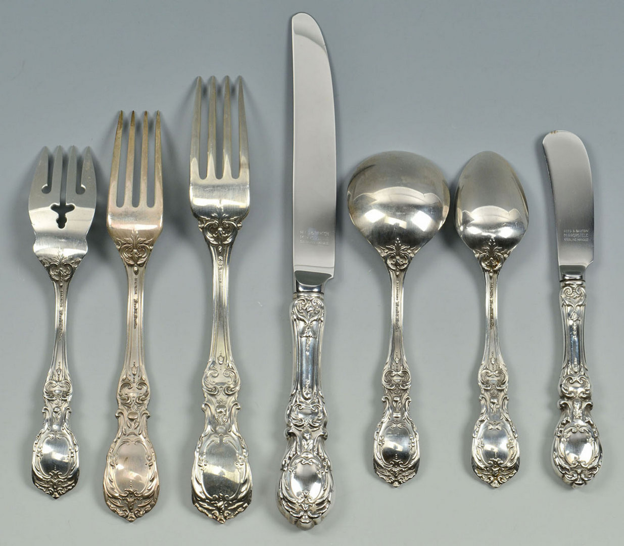 Lot 69 Reed And Barton Francis I Sterling Flatware 120 P
