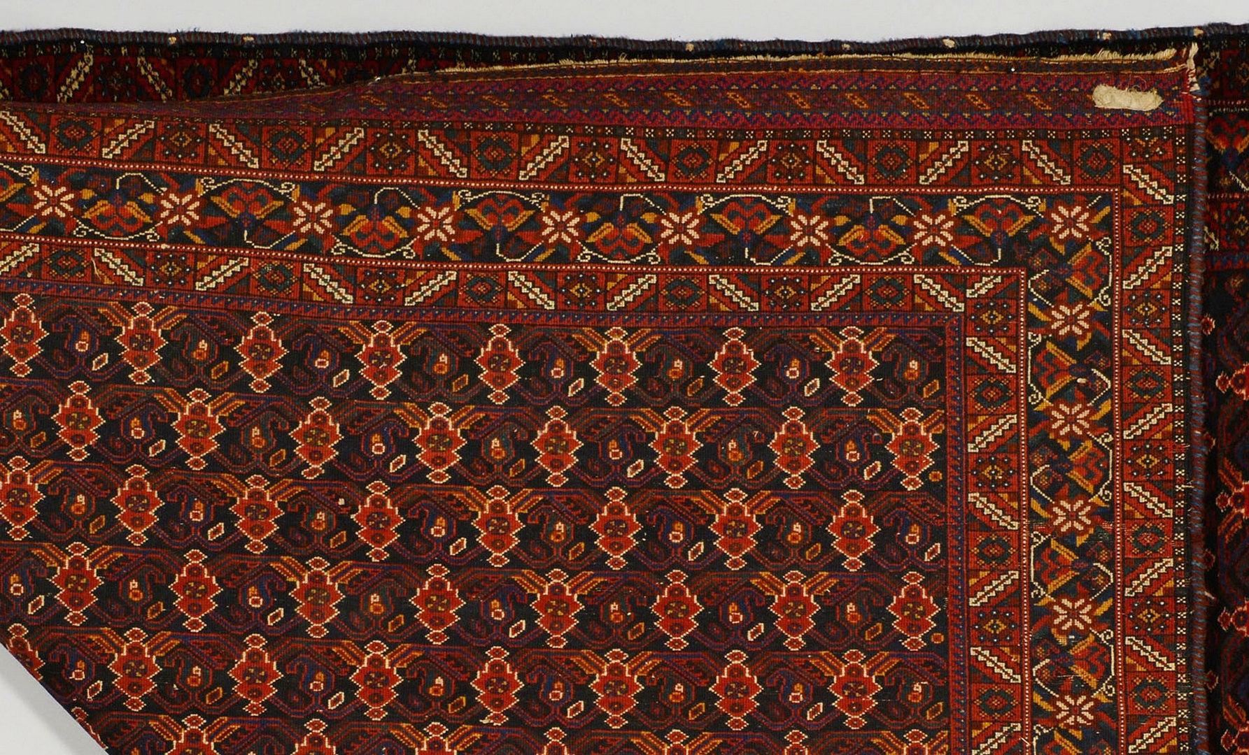 """Lot 701: Semi-Antique Afshar Rug, 6'6"""" x 5'1"""""""