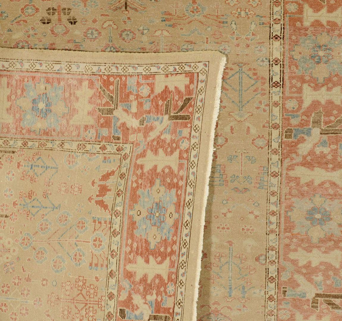 """Lot 703: Egyptian Carpet, 7' 1"""" x 7' 3"""""""