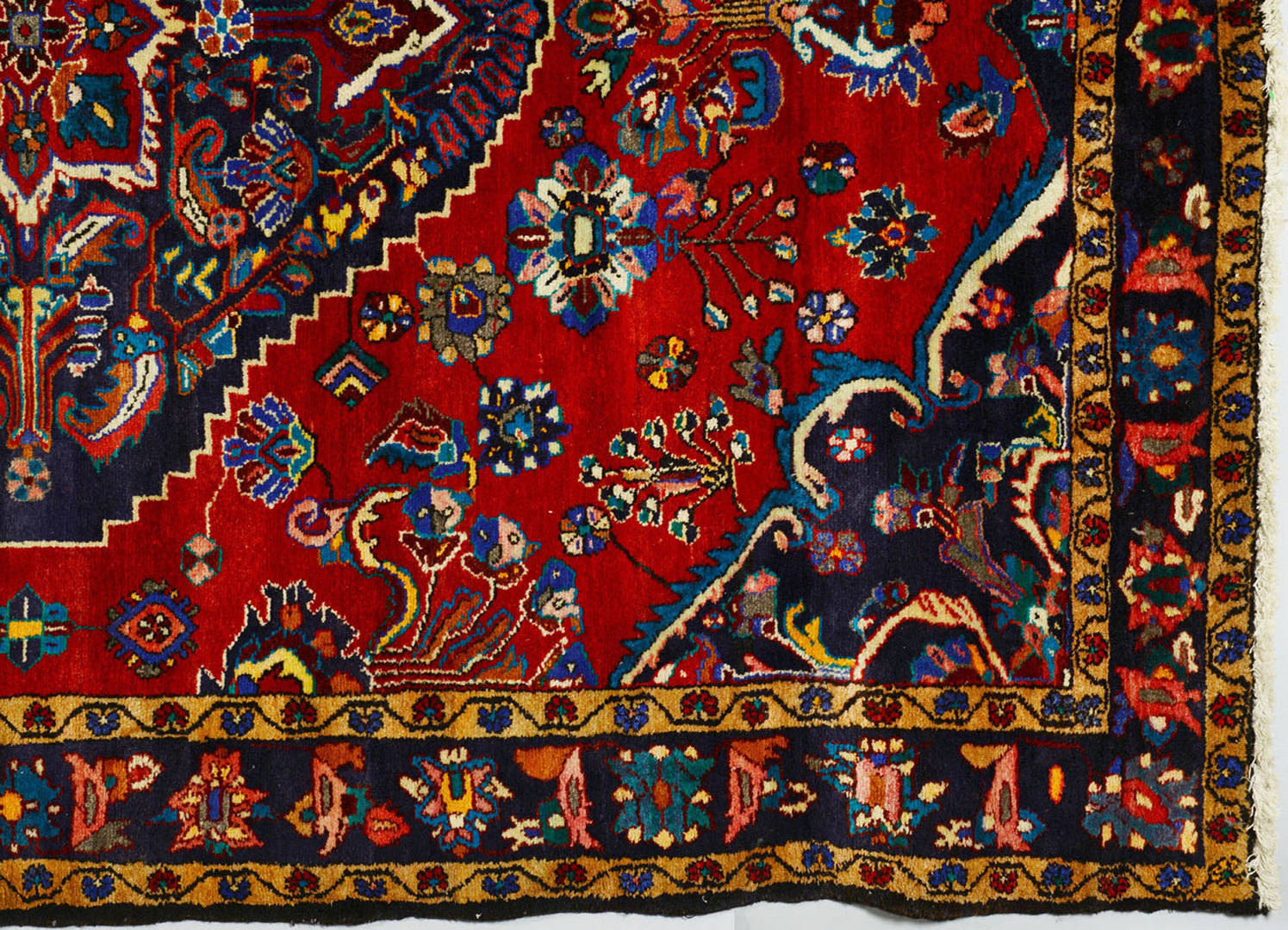 Lot 705: Hamadan Carpet, 10' x 7'