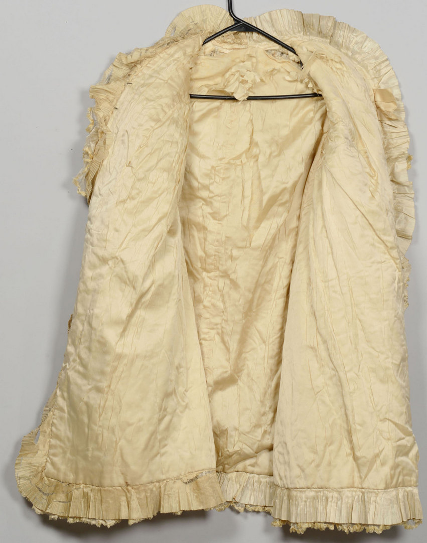 Lot 711: Edwardian Lace Evening Coat or Jacket