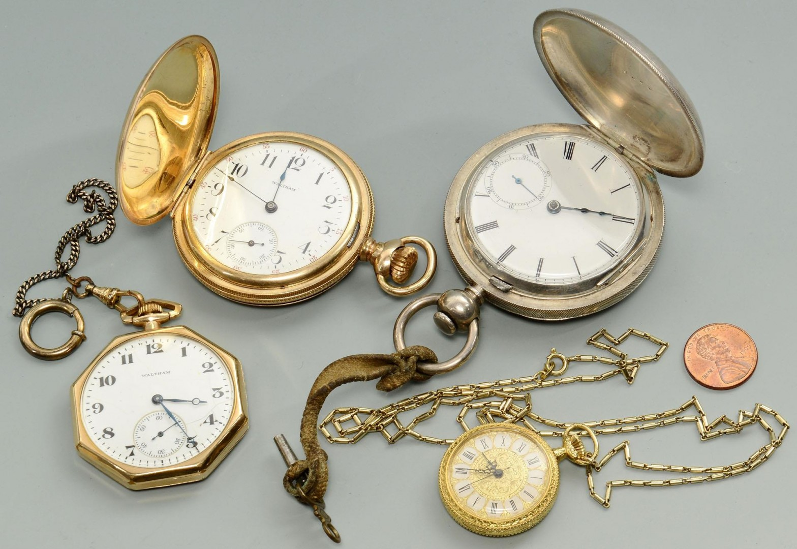 Lot 712: Group of 4 pocket watches
