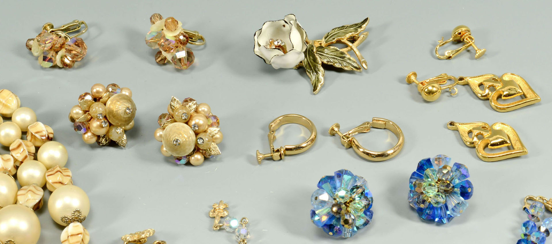 Lot 713: Lot of Capri and Vendome Costume Jewelry
