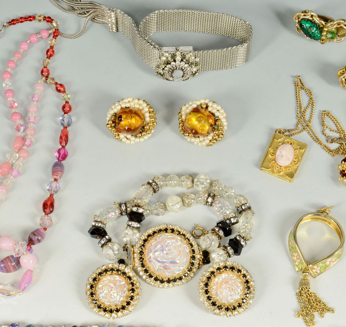 Lot 716: Group of Designer Costume Jewelry by Hobe