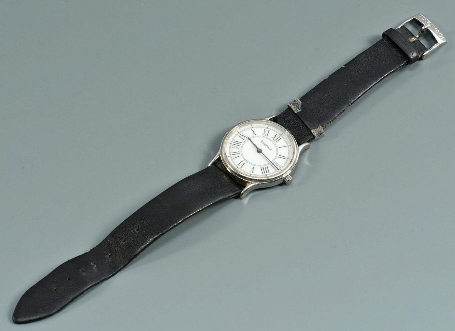Lot 721: Tiffany & Raymond Weil Men's Wristwatches