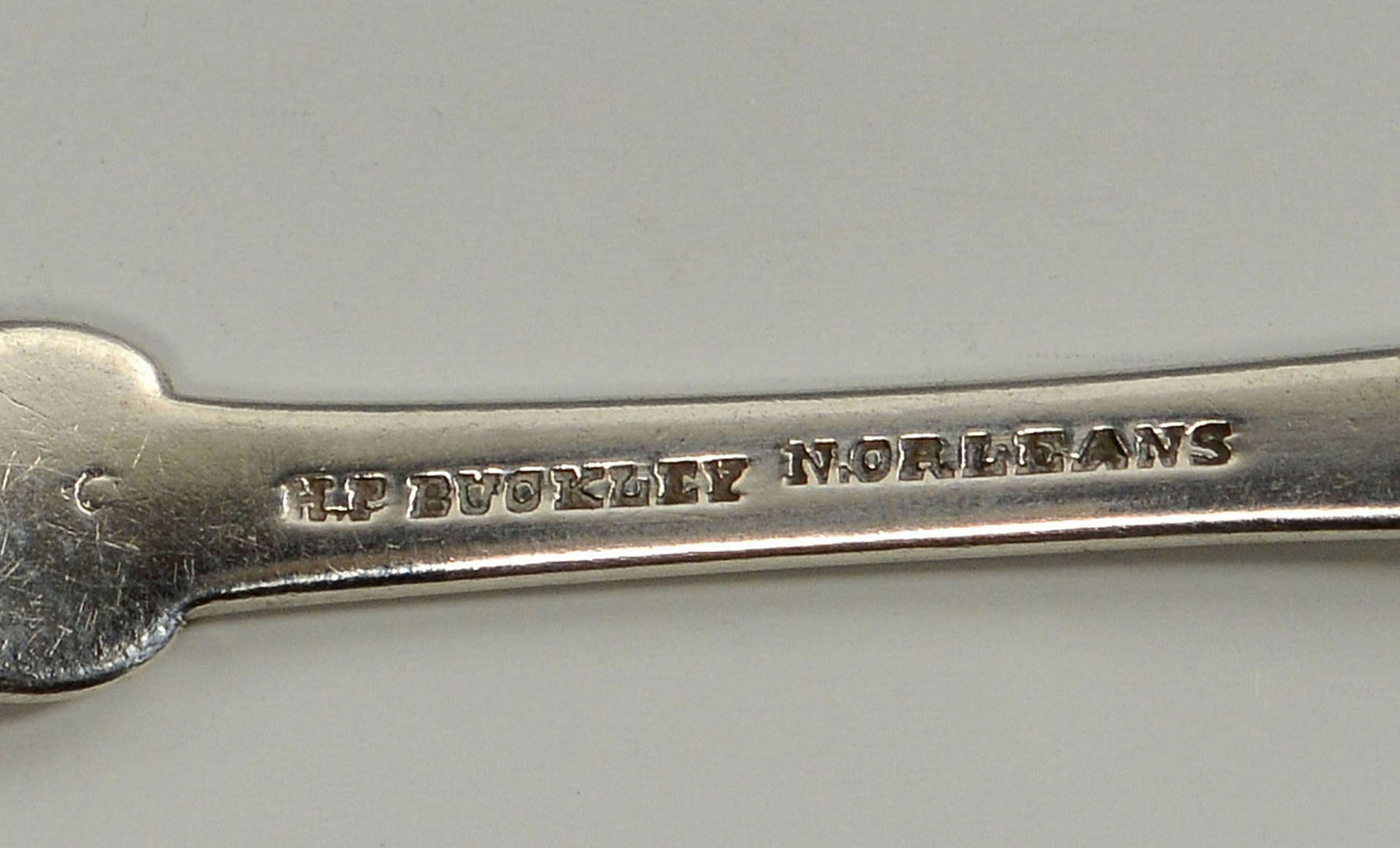 Lot 80: 6 New Orleans Coin Silver Forks