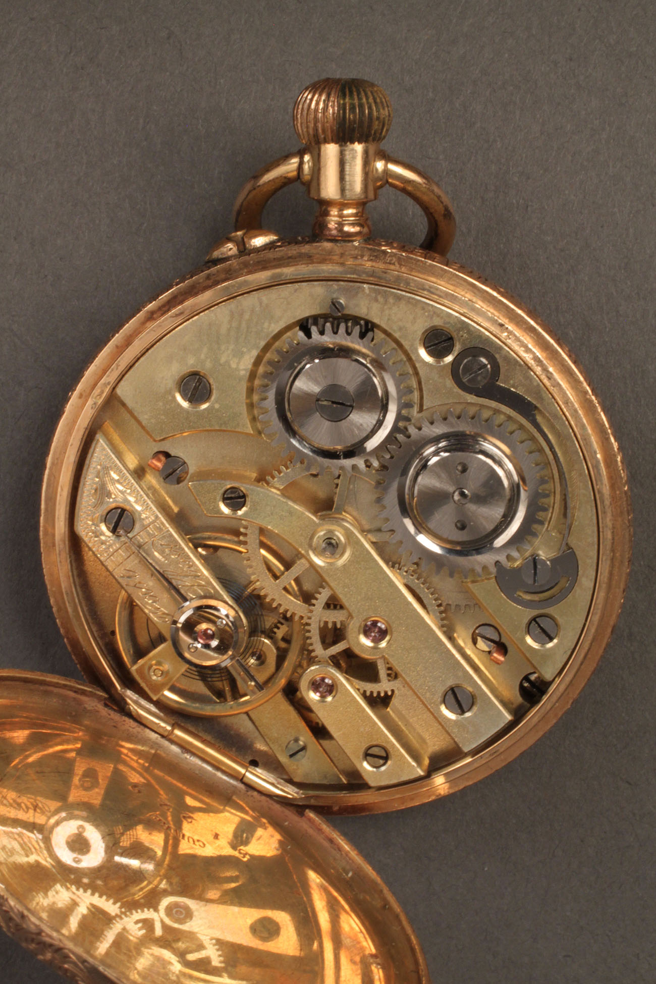 Lot 110 14k Gold Cuivre Pocket Watch