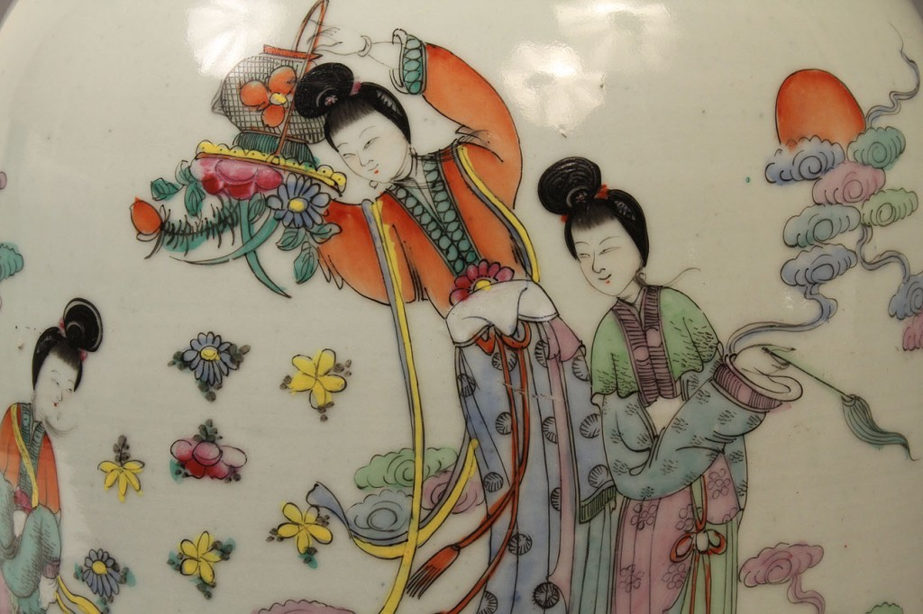 Lot 116: Lot of 2 Chinese Export Items, 19th c.