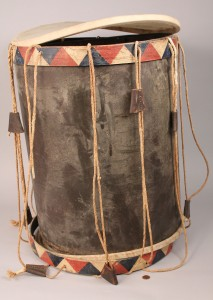 Lot 11: Southern Regimental Drum, TN provenance