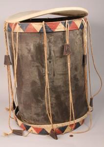 Lot 11: Southern Regimental Drum, TN provenance