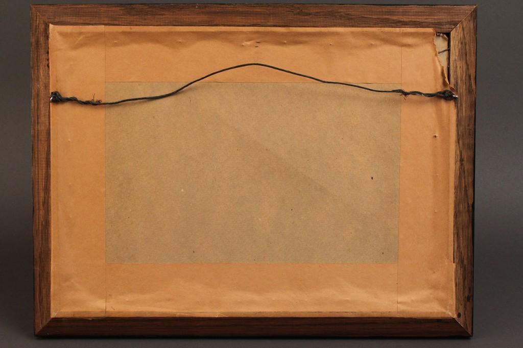 Lot 143: Milton Bond Reverse Painting on Glass