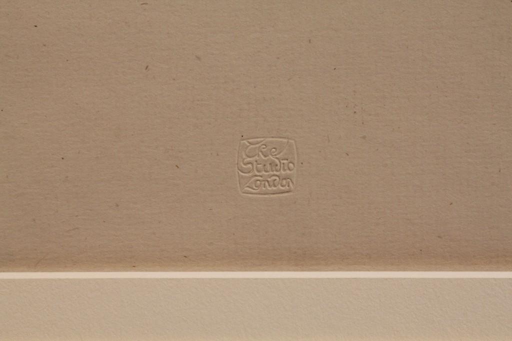"Lot 152: Whistler Lithograph, ""La Robe Rouge"""