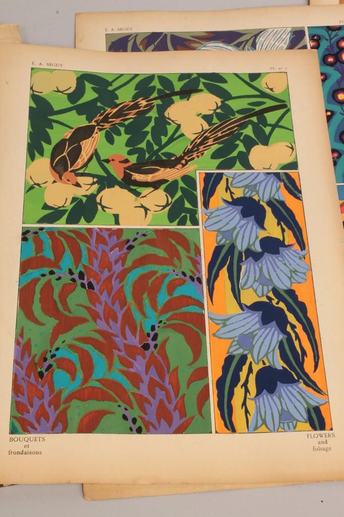 Lot 153: E. A. Seguy portfolio, Bouquets et Frondaisons