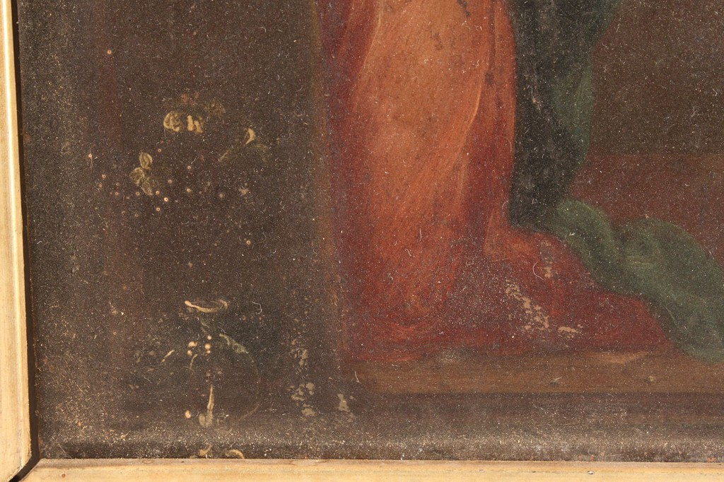 Lot 161: Oil on copper panel, 17th c., Style of Murillo