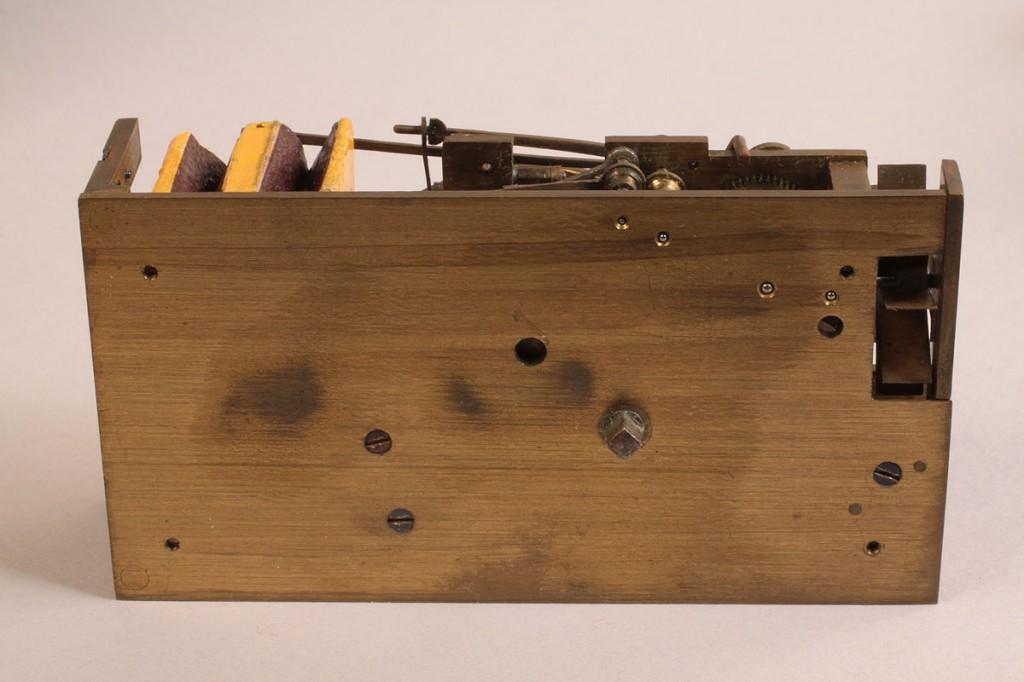 Lot 196: Tortoise Shell Automaton Music Box