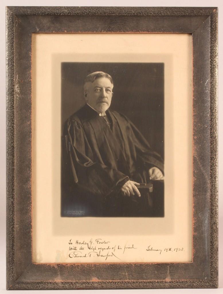 Lot 202: U. S. Supreme Court and Political photographs