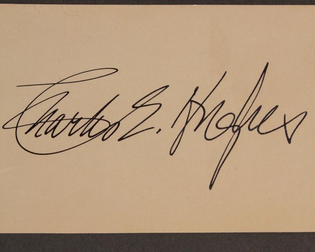 Lot 207: Lot of 6 Political autographs & documents