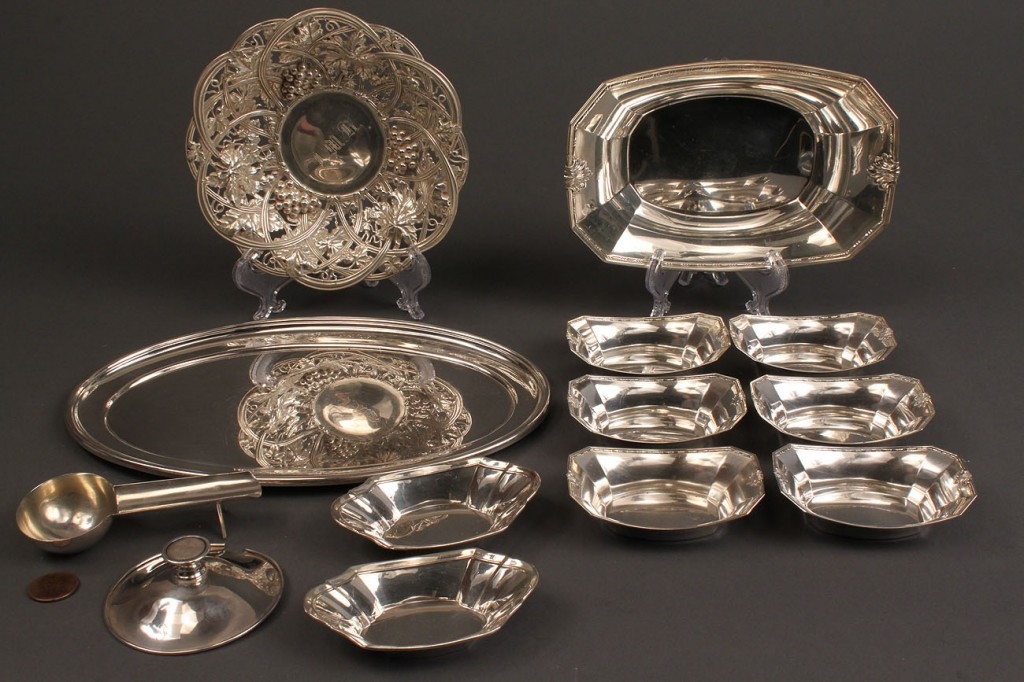 Lot 229: Assorted Sterling Holloware, 12 pcs.
