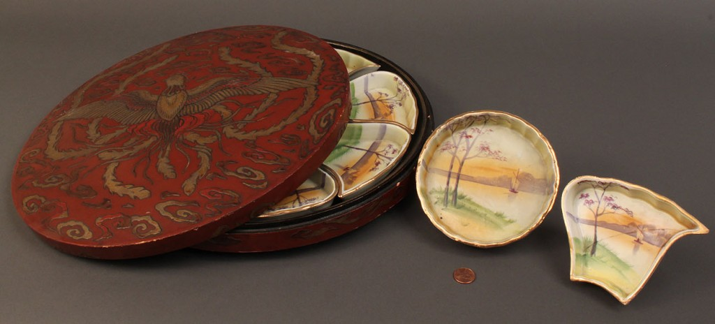 Lot 284: Lot of 3 Asian Decorative Items
