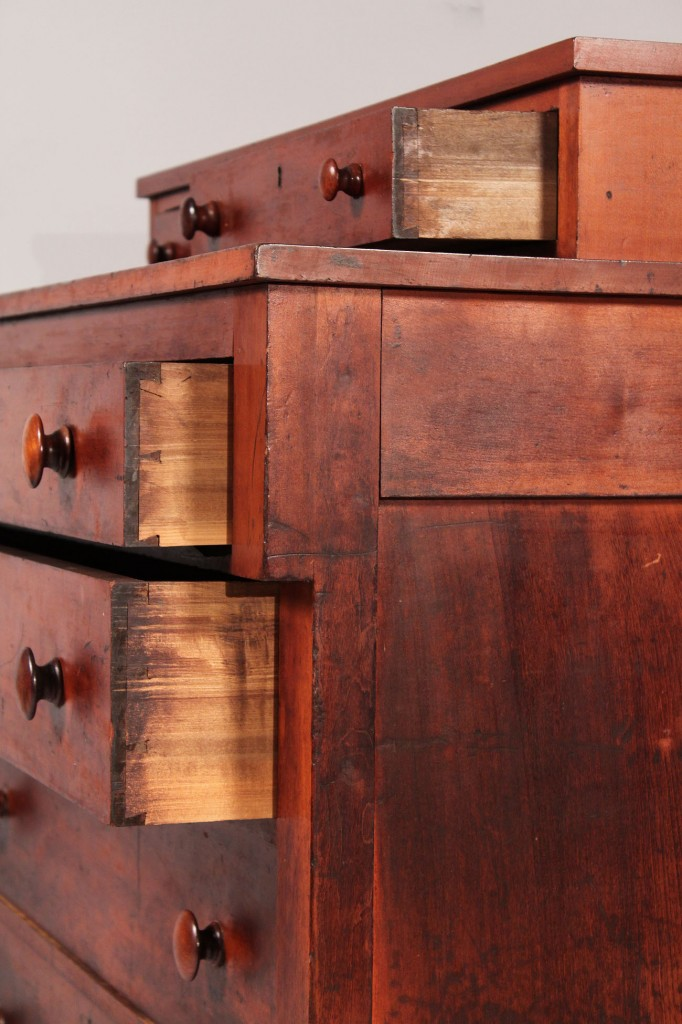 Lot 294: Southern Classical / Empire Chest of Drawers