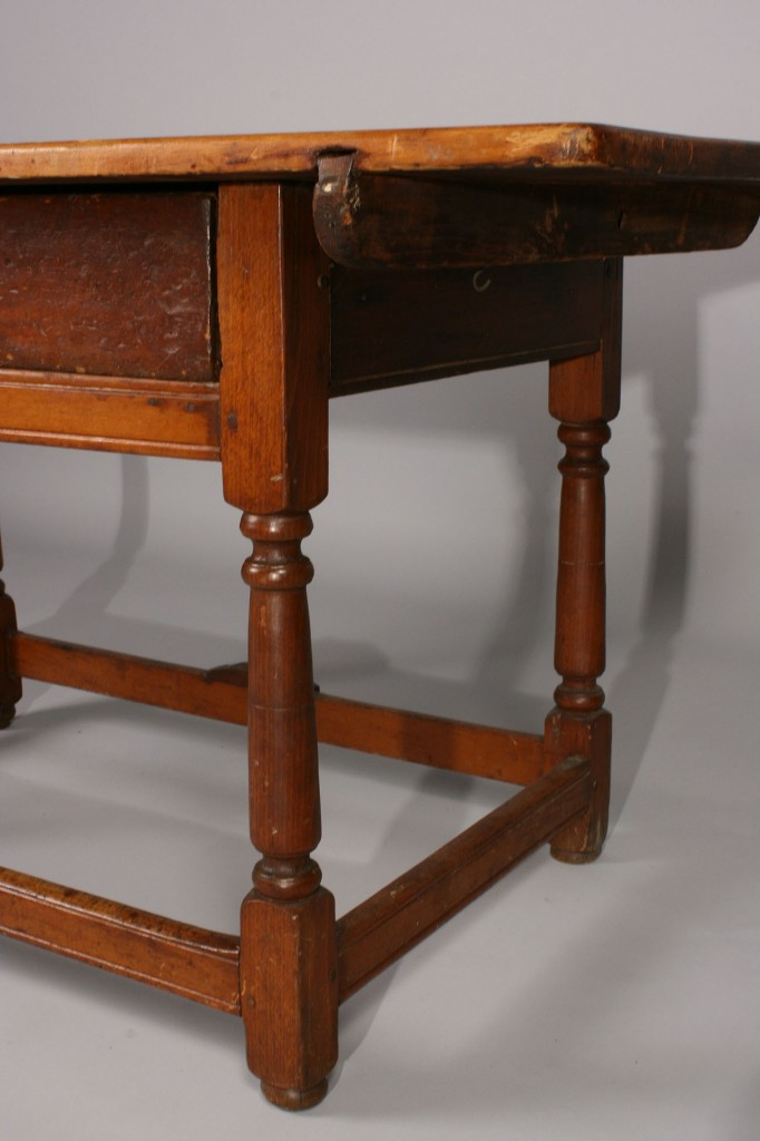 Lot 297: 18th c. Massachusetts Tavern Table w/provenance