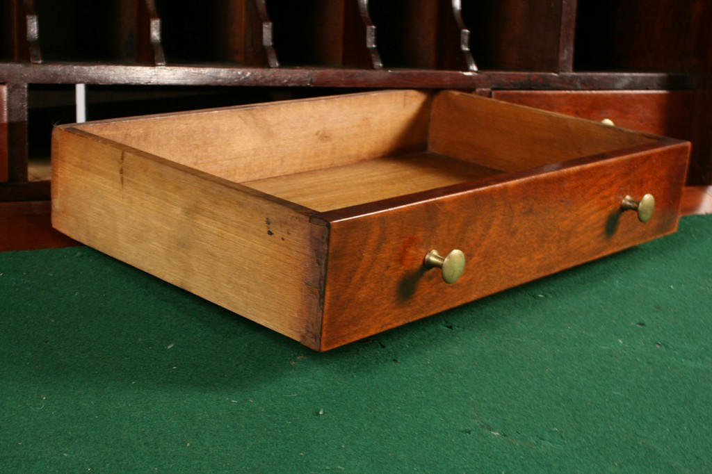 Lot 299: Sheraton Mahogany Plantation Desk