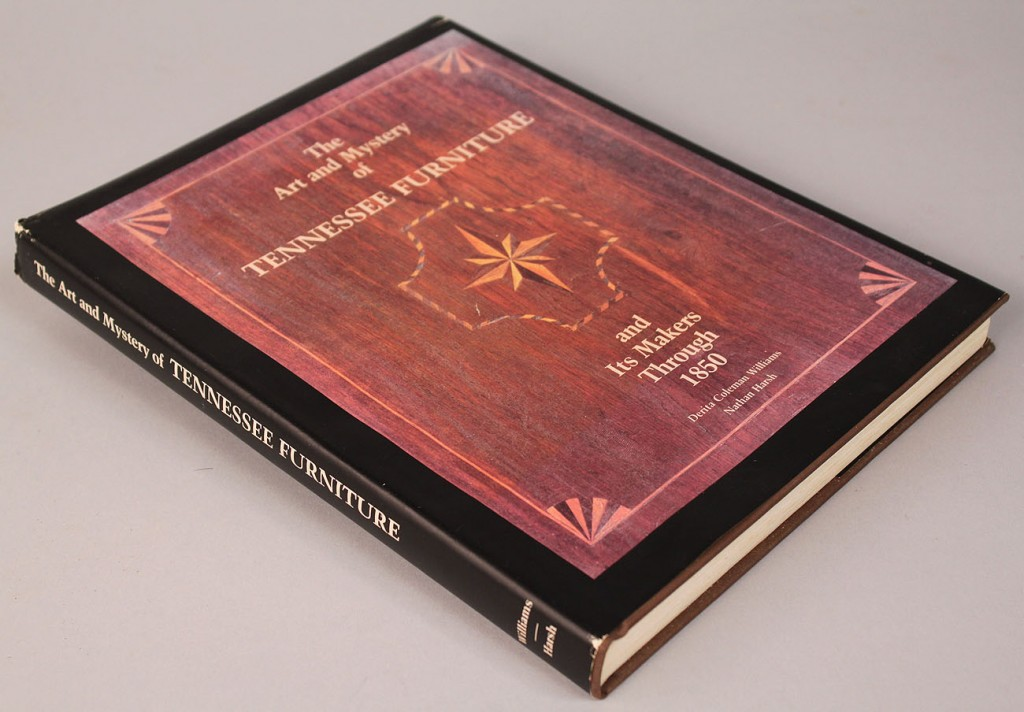 Lot 2: Book: The Art and Mystery of TN Furniture, Harsh & Williams