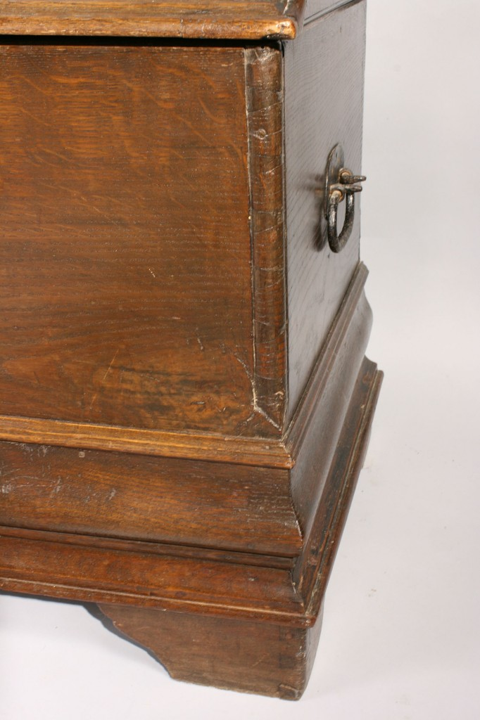 Lot 305: Continental Dome Top Dower Chest