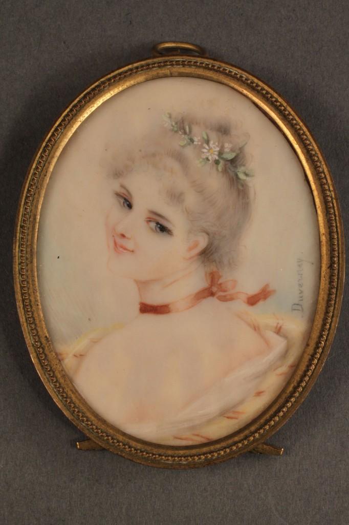 Lot 309: 3 Miniatures, incl. Princess Lambelle by Michel
