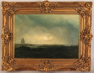 Lot 328: Marine Painting, manner of Winslow Homer