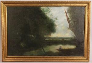 Lot 329: Alma Ewing, Castalian Springs landscape