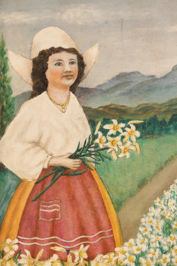 Lot 330: Rev. C. W. Rightsell outsider art, Oil on Canvas