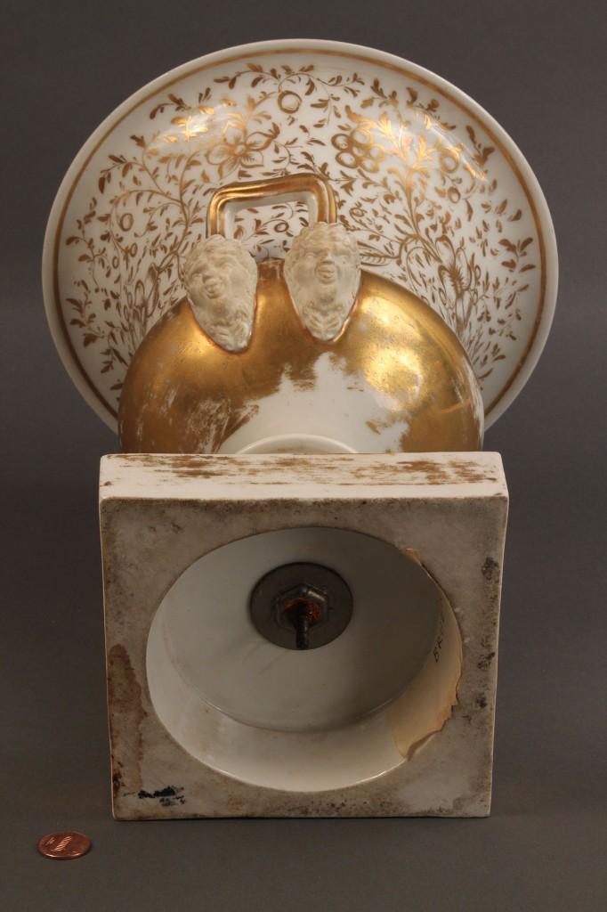 Lot 345: Old Paris Porcelain Urn