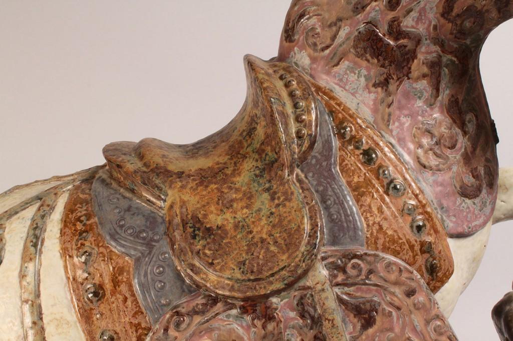 Lot 353: Lladro Oriental Horse